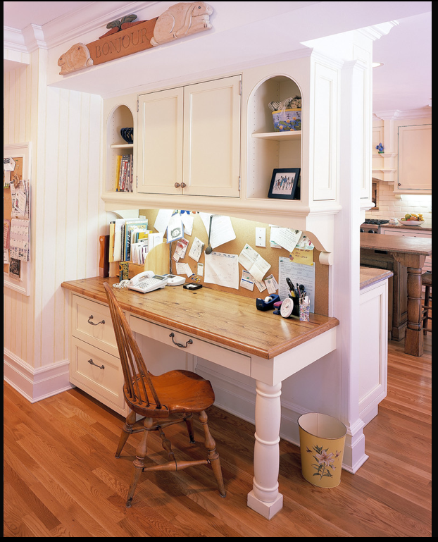 Mini Offices For Kitchen: Make Use Of All Your Space
