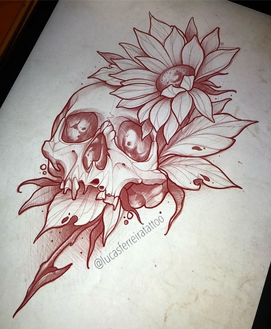 Eye catching tattoo sketches design ideas 1
