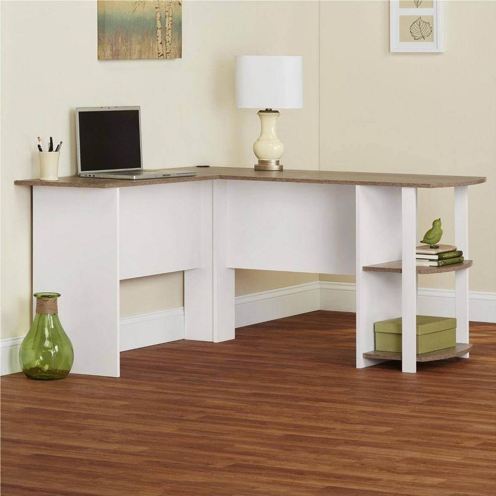 Elegant Create The Perfect Office Space With The Altra Dakota L Shaped Desk With  Bookshelves. This Desk Fits Snuggly In A Corner To Maximize Your Home Office  Space. Good Looking