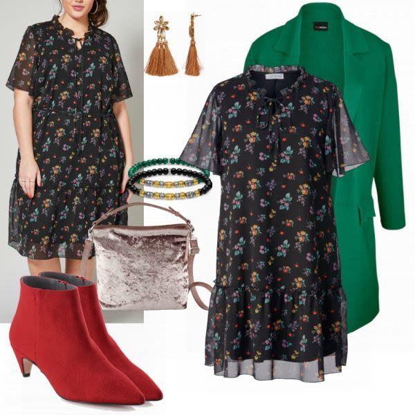 Große Größen Outfits: MM Kleid bei FrauenOutfits.de #mode ...