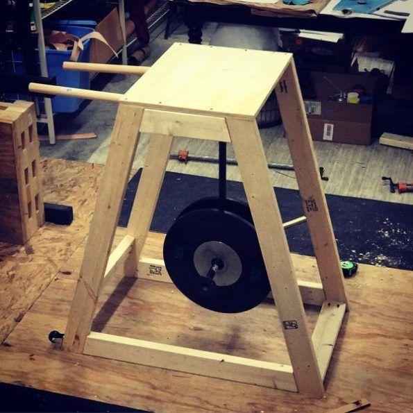 Diy reverse hyper machine for under cool ideas diy gym