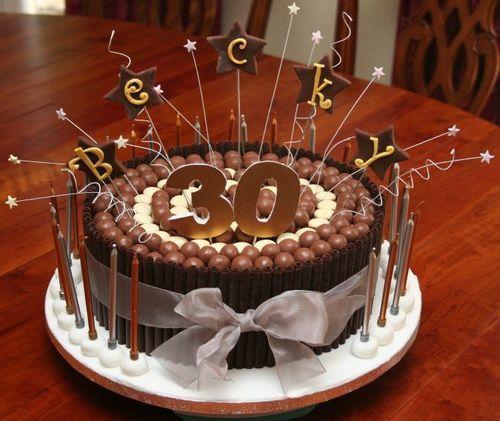 Chocolate 30th Birthday Cakes For Men Happy Birthday Cake Idea Beste Geburtstagskuchen Birthday Cakes For Men Geburtstagstorte