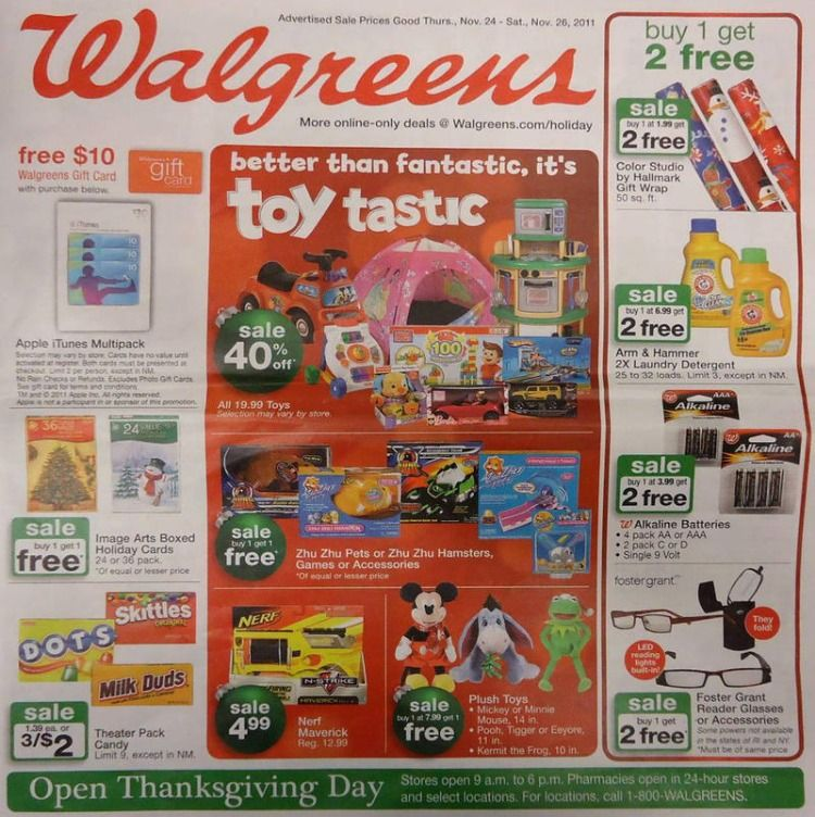 Walgreens Black Friday 2020 Sale Get Black Friday Deals Black