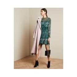 Photo of Langärmeliges Minikleid Mit Diamond-print Ted BakerTed Baker