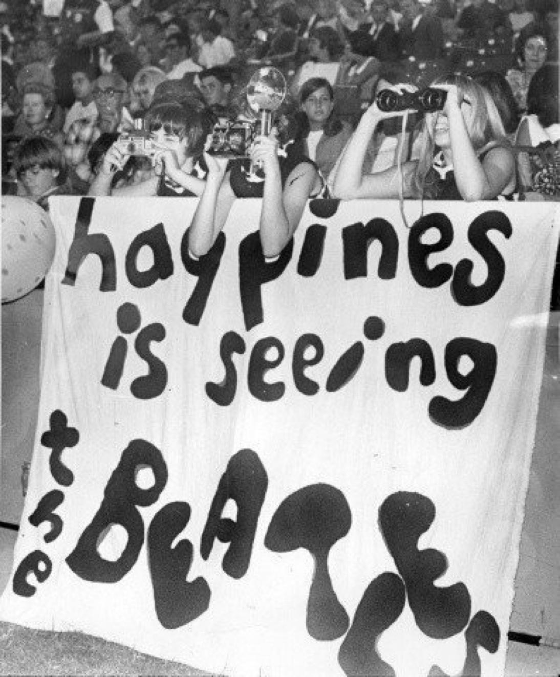 Fans in St. Louis, 1966.