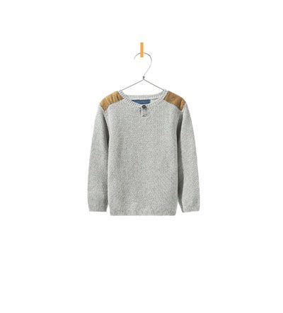 ZARA - KIDS - SWEATER WITH SHOULDER PATCHES