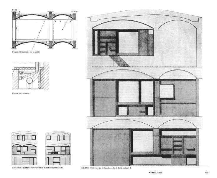 Maison Jaoul - Le Corbusier | Architect // Le Corbusier ...