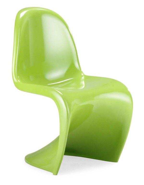 ZUO Modern - S Chair in Green (Set of 2) - 103185 | Great Furniture Deal