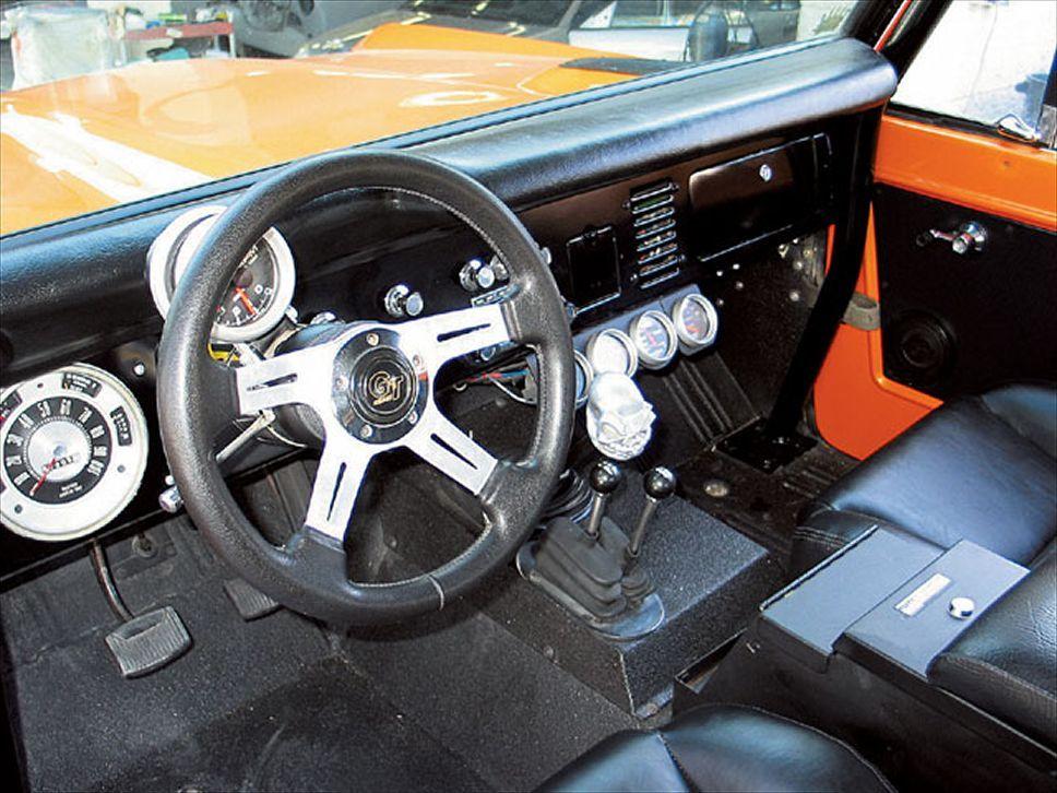 1976 Ford Bronco V8 Engine Truckin Magazine Ford Bronco