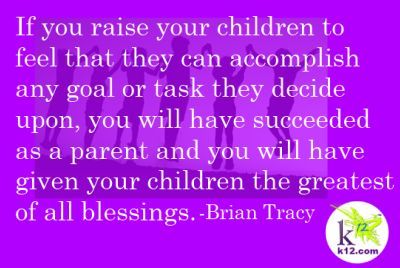 Love this quote! How do you encourage your children?