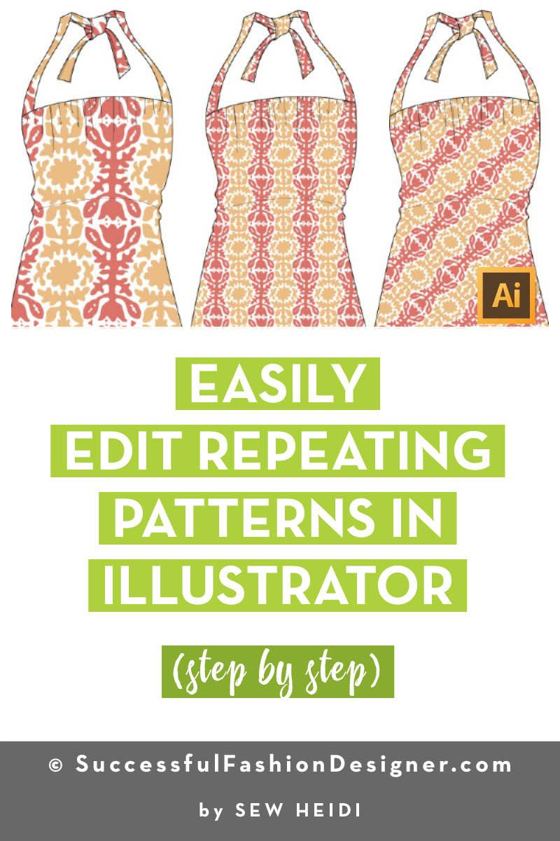 Manipulate Direction And Scale Of Patterns In Illustrator