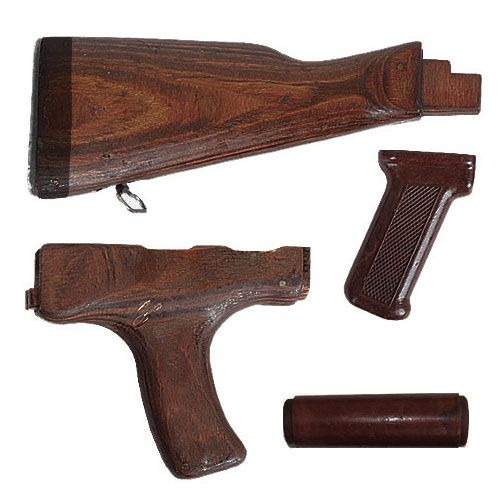 Romanian AK 47 Stock Set   4 Piece Wood AK 47 Furniture Set. Romanian AK 47 Stock Set   4 Piece Wood AK 47 Furniture Set   AK