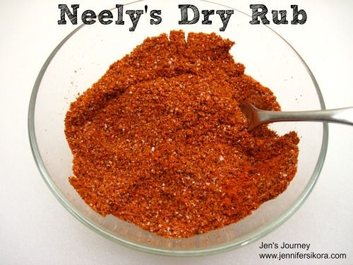 Neely S Dry Rub Jen S Journey Dry Rub Recipes Bbq Dry