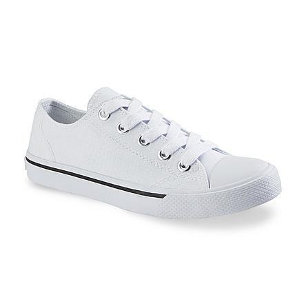 Bongo  Women's  White Shoe  Sneeky Canvas Oxford  Brand NEW