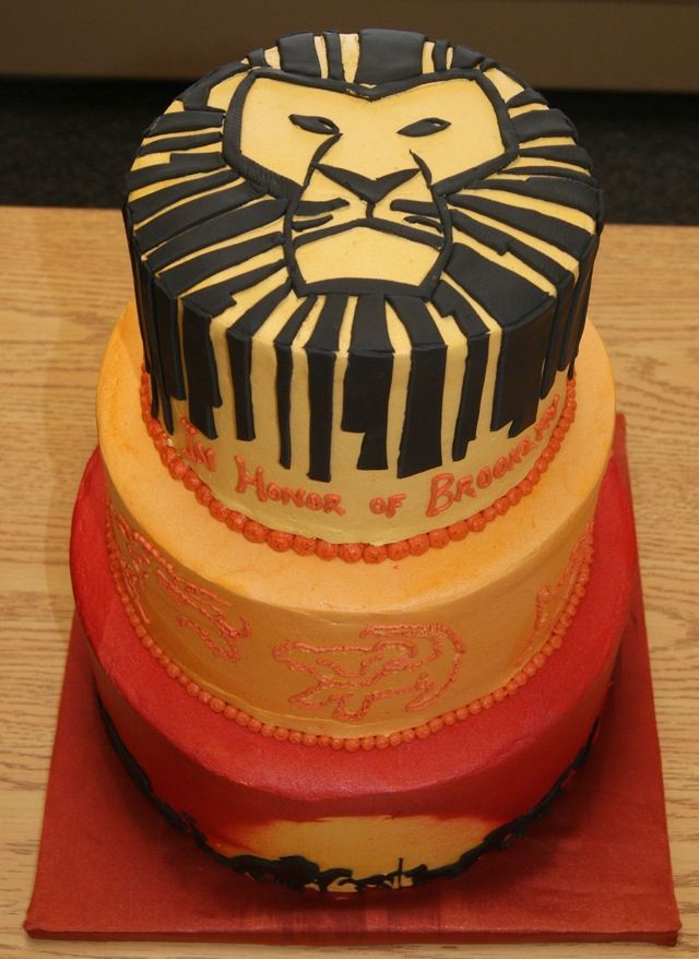 Awesome Lion King Cake Lion king cakes Lions and Icecream