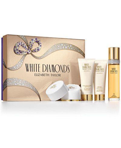 Elizabeth Taylor White Diamonds Gift Set Diamond Gift Diamond