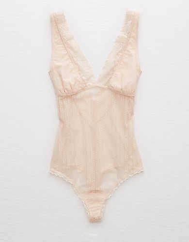 9770589b3d Aerie Sheer Lace Bodysuit