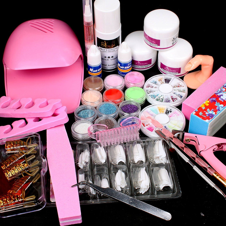 25 in 1 combo set professional diy nail art decorations