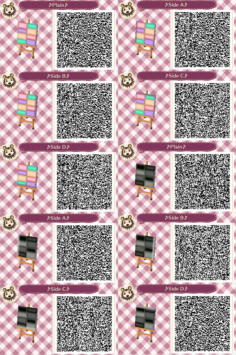 Teeteeleaf Just Some Simple Paths Stuck In Bed All Day Due To Feeling Unwell So Been Making Ran Qr Codes Animal Crossing Animal Crossing Qr Qr Codes Animals
