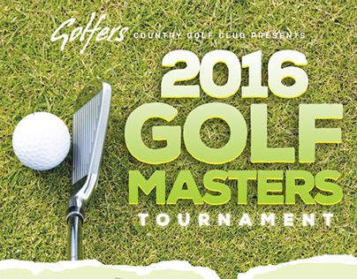Check Out New Work On My Behance Portfolio Golf Tournament Flyer - Golf tournament flyer template
