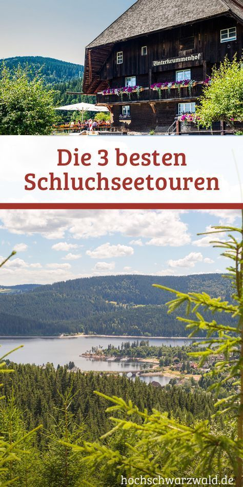 Wandern am Schluchsee Schwarzwald urlaub, Reisen