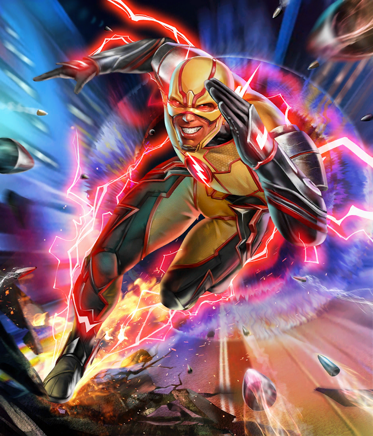 Injustice 2 Mobile Roster Flash Comics Reverse Flash Flash Wallpaper