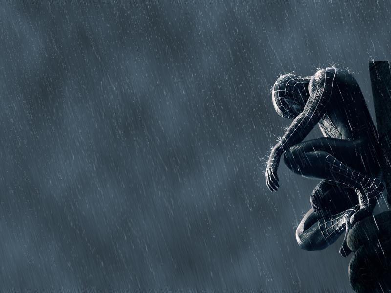 cool spiderman 3 black suit wallpaper hd spiderman 3 in
