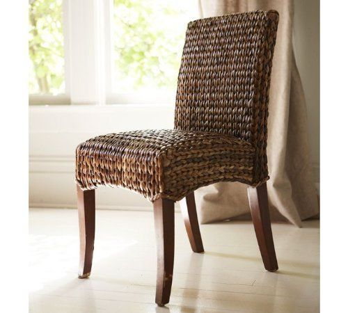 Set Of 2 Handwoven Seagrass Dining Chairs By Pebble Lane Living, Http://