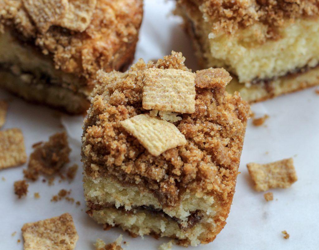 Cinnamon Toast Crunch Streusel Cake Milk Bar Style! - Ritzy Mom