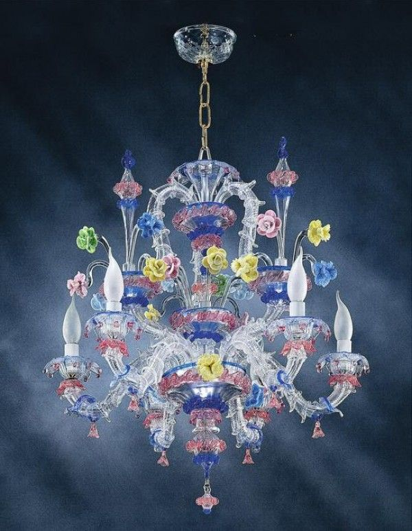 Montepulciano Muranodirect Venice Murano Glass Chandelier