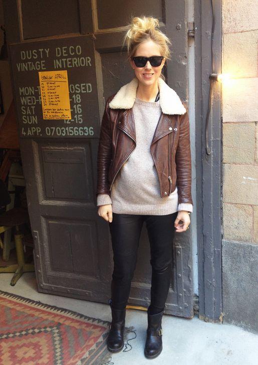 Lina Preggo Style We Looove Cool Mom Inspo