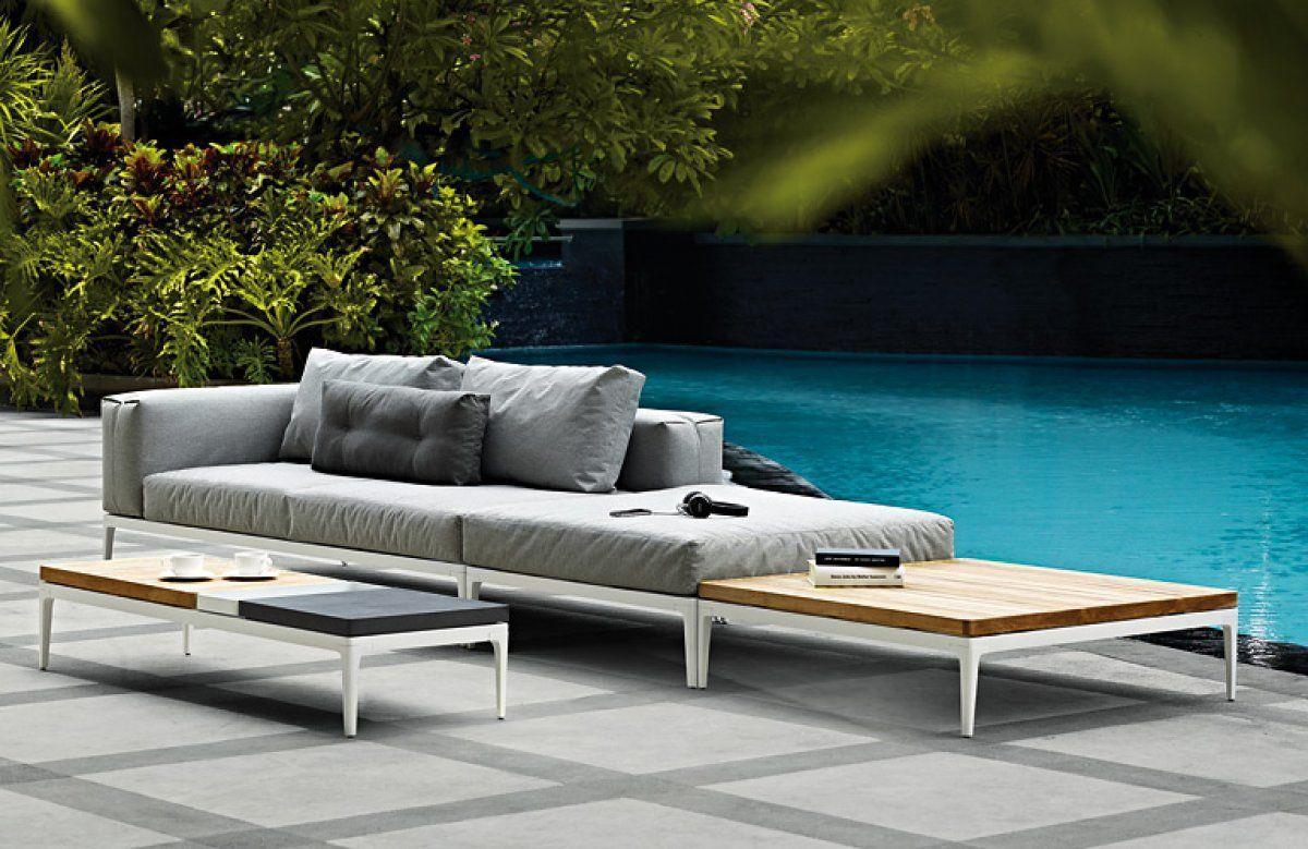 gartenbett metall google suche terrasse lounge m bel lounge gartenm bel und gartenm bel. Black Bedroom Furniture Sets. Home Design Ideas
