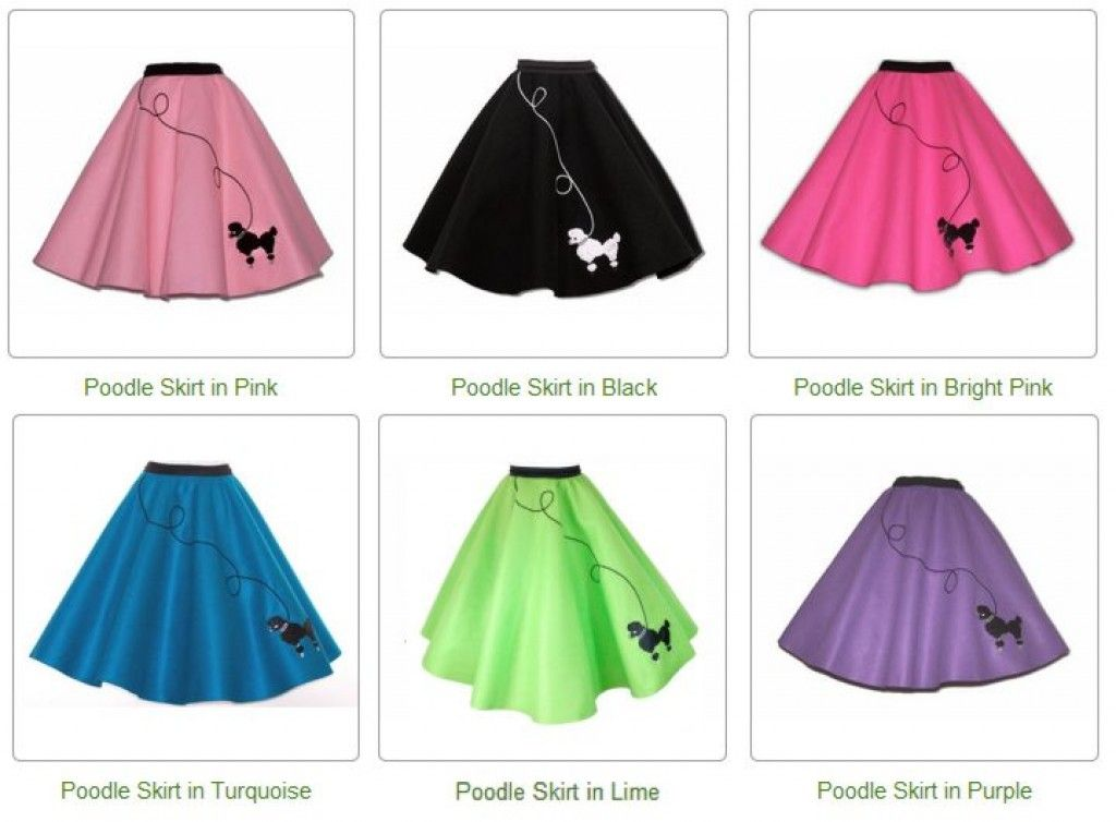 Make a Poodle Skirt with a DIY Pattern | School fun days | Pinterest ...