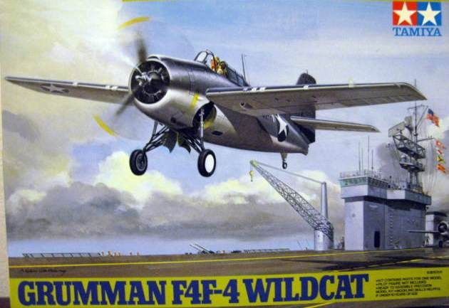 YellowAirplane.com: F4F Wildcat Military Collectable World War 2 Airplane Models.