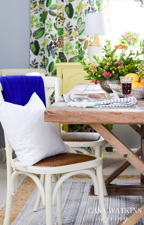Eclectic Dining Room Endearing Love This Colorful Global Eclectic Dining Room Reveal  Best Of Inspiration Design