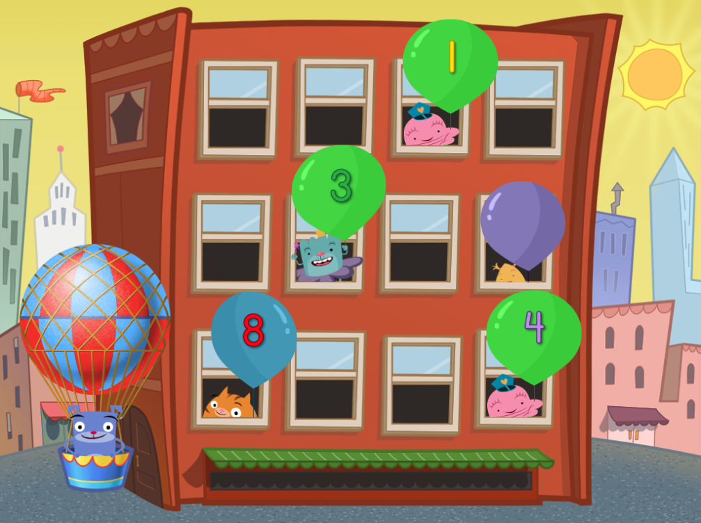 Get poppin' in this fastpaced game that challenges kids
