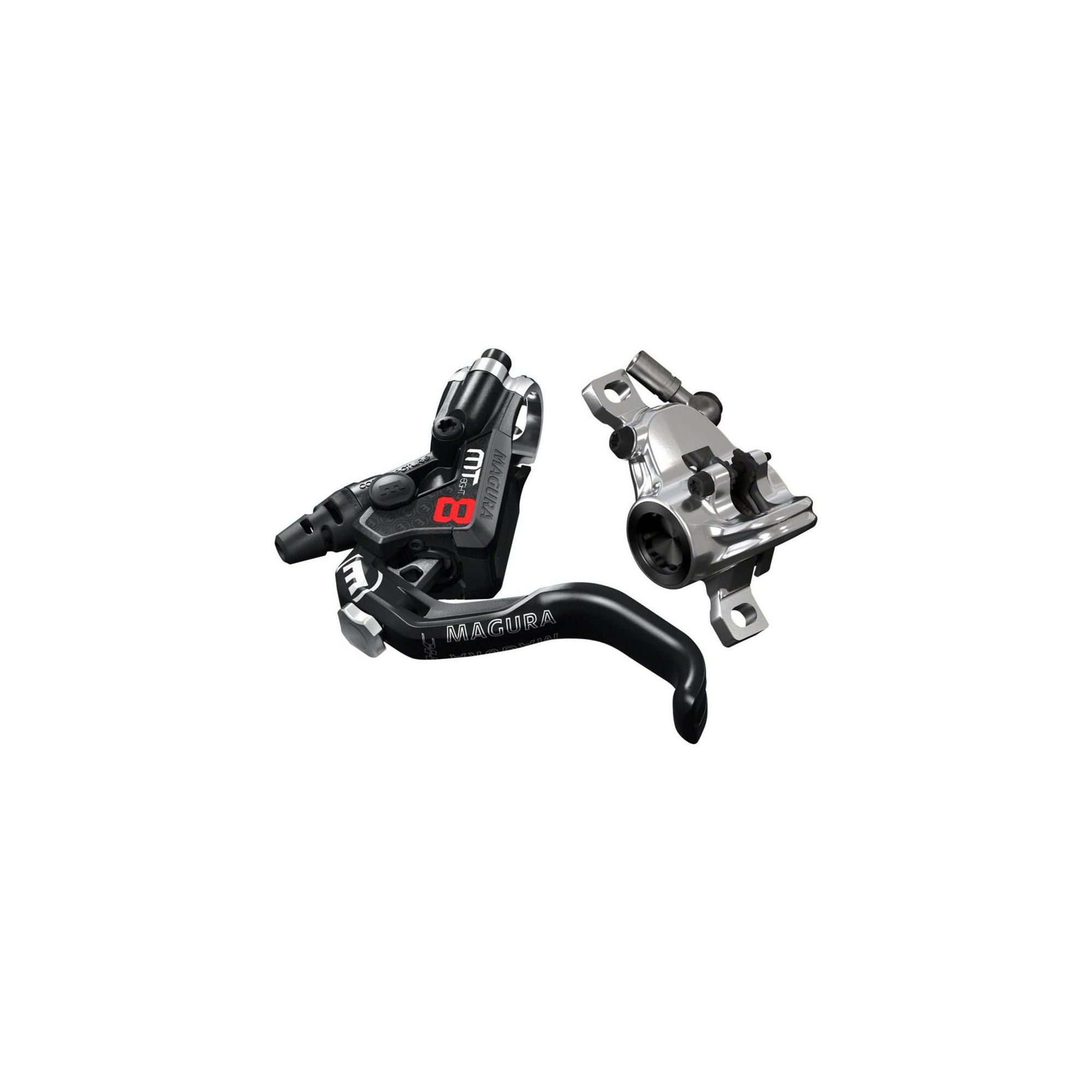 Magura MT8 Next Disc Brake and Lever Front or Rear with 2000mm Hose