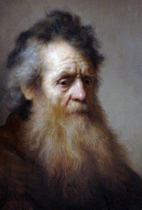 Rembrandt van Rijn: Rembrandt van Rijn, 'Portrait of an Old Man'