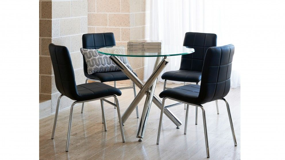 Lily 5 Piece Dining Setting - Dining Furniture | Harvey Norman ...