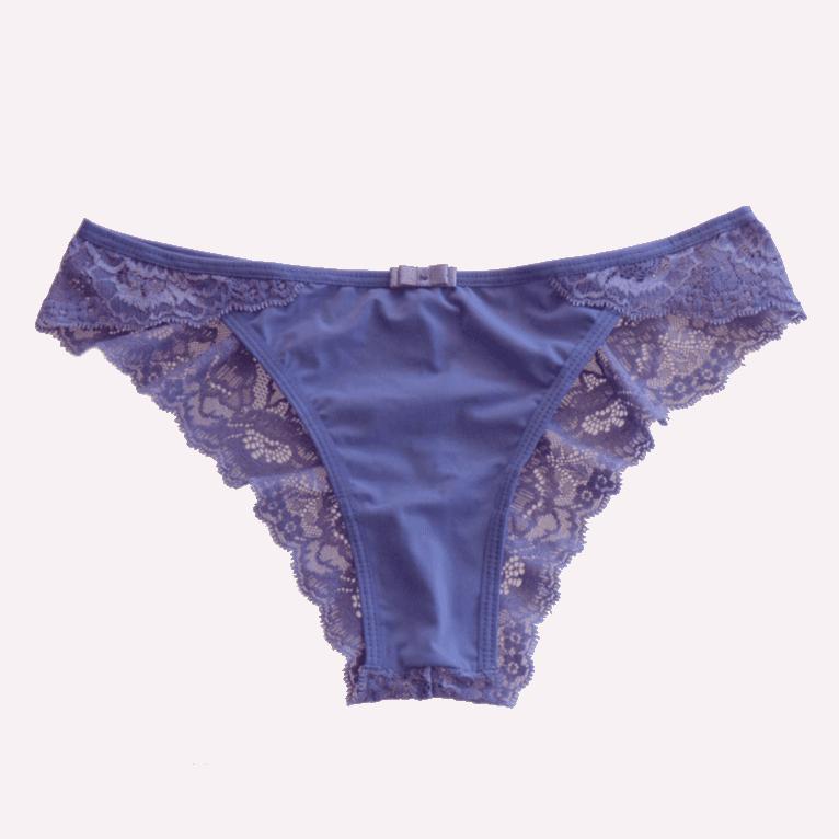 calcinha string renda lilás Pimenta Doce - Rosa Mais  702e5eafb18