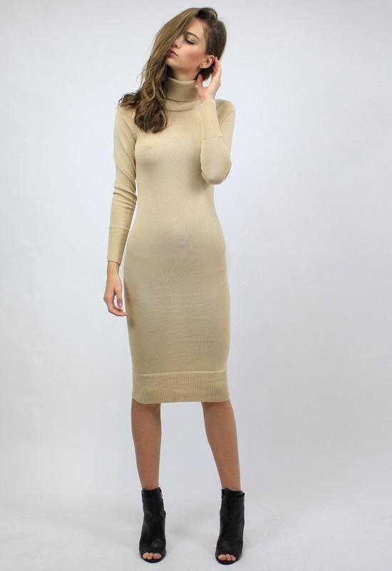 1d5e1f54cb Monaco Turtleneck Dress by Lioness - FINAL SALE