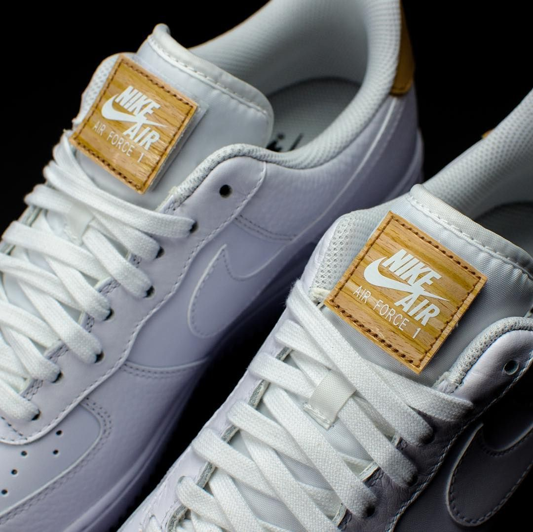 8f606e36a70 The Nike Air Force 1 07 LV8 features a removable tongue patch. #ateaze .