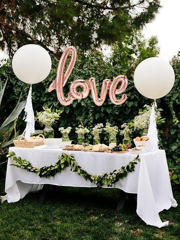 40 Awesome Wedding Decoration Ideas With Balloons Wedding