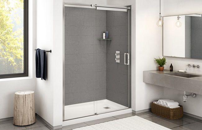 Conard Option 36 X 60 3 X 5 As Req On 2nd Floor 3 Piece Not 1 Piece Shower Keller Price 172 Shower Wall Panels Bathroom Design Shower Wall