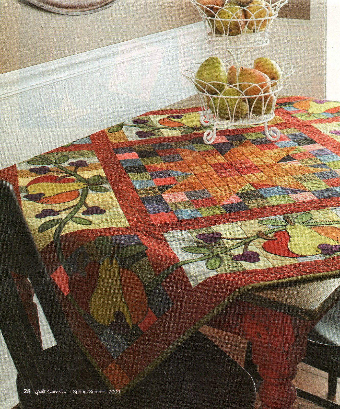 Farmers Market Quilt Pattern 44 12 Square Quilt Squares And
