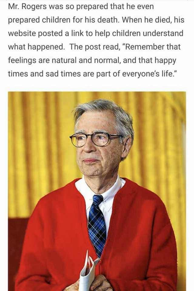 Mr Rogers Was A Beautiful Soul Think Zitate Legenden