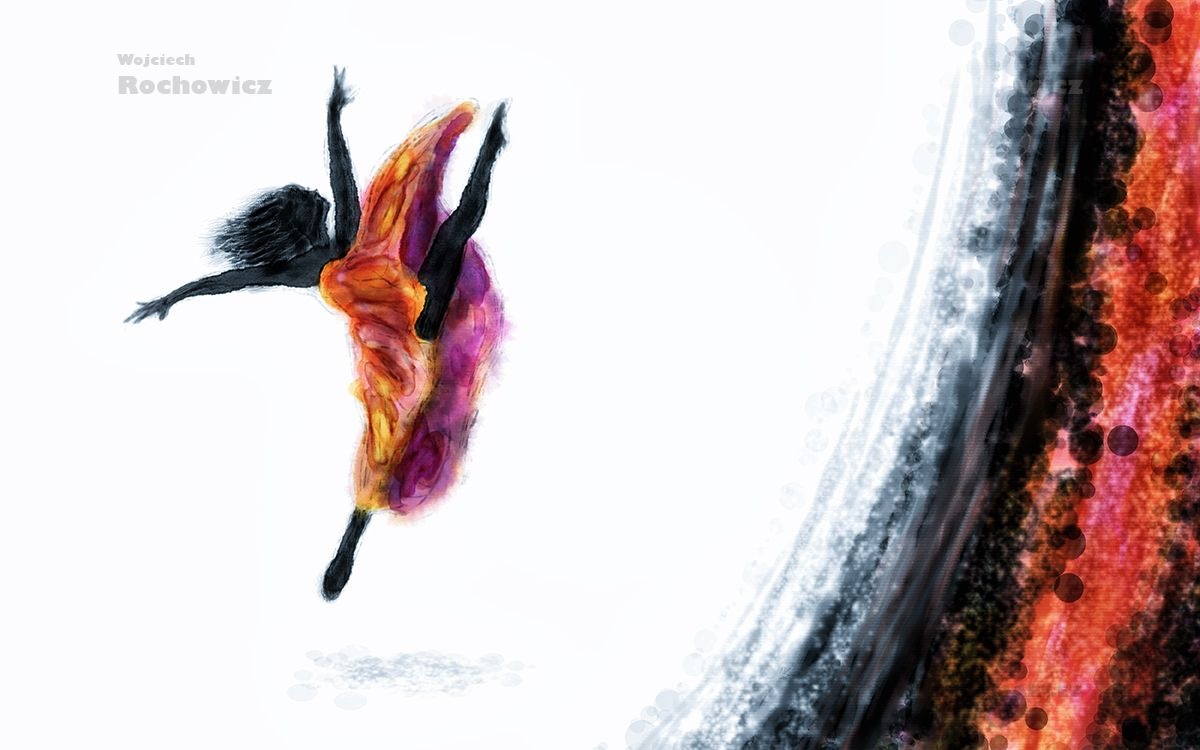Modern dance by girl abstract digital painting you can buy my modern dance by girl abstract digital painting you can buy my artwork malvernweather Image collections