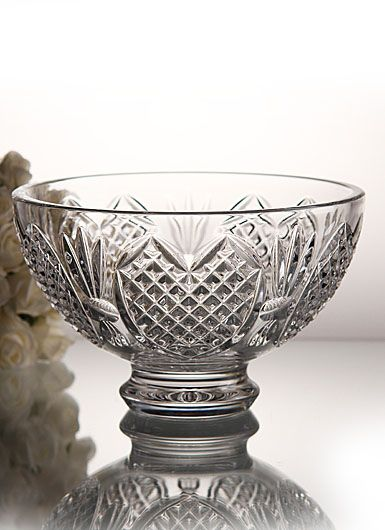 Waterford Crystal Wedding Heirloom 8 Crystal Bowl Tying The Knot