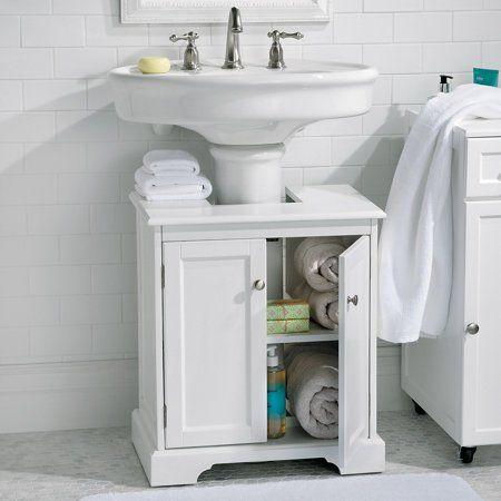 40 Pedestal Sink And Storage Design Ideas Pedestal Sink Storage Pedestal Sink Small Bathroom Storage