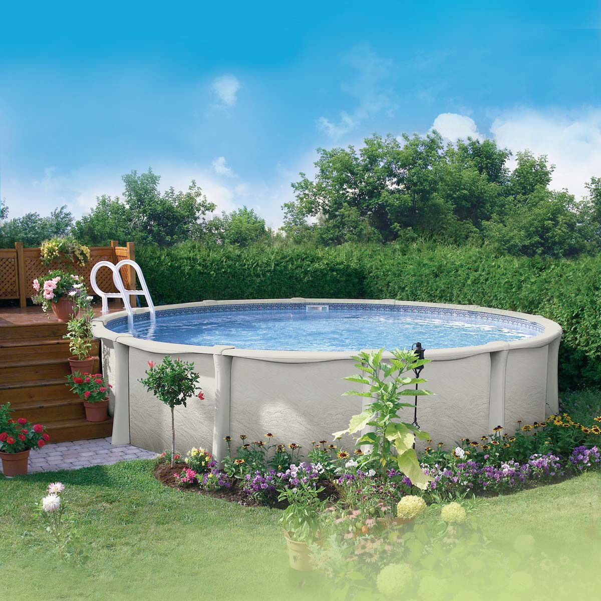 Pool landscape ideas albercas y terrazas pinterest for Paisajismo terrazas